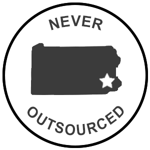 never outsourced